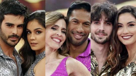 'Dança dos Famosos 2018': Anderson Tomazini, Deborah Evelyn e Fiuk deixam a competição