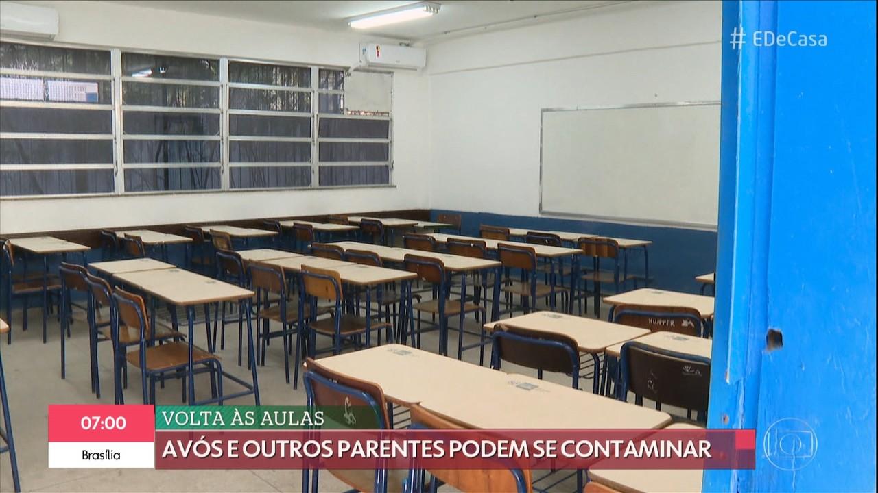 Volta às aulas pode ser um risco para a população