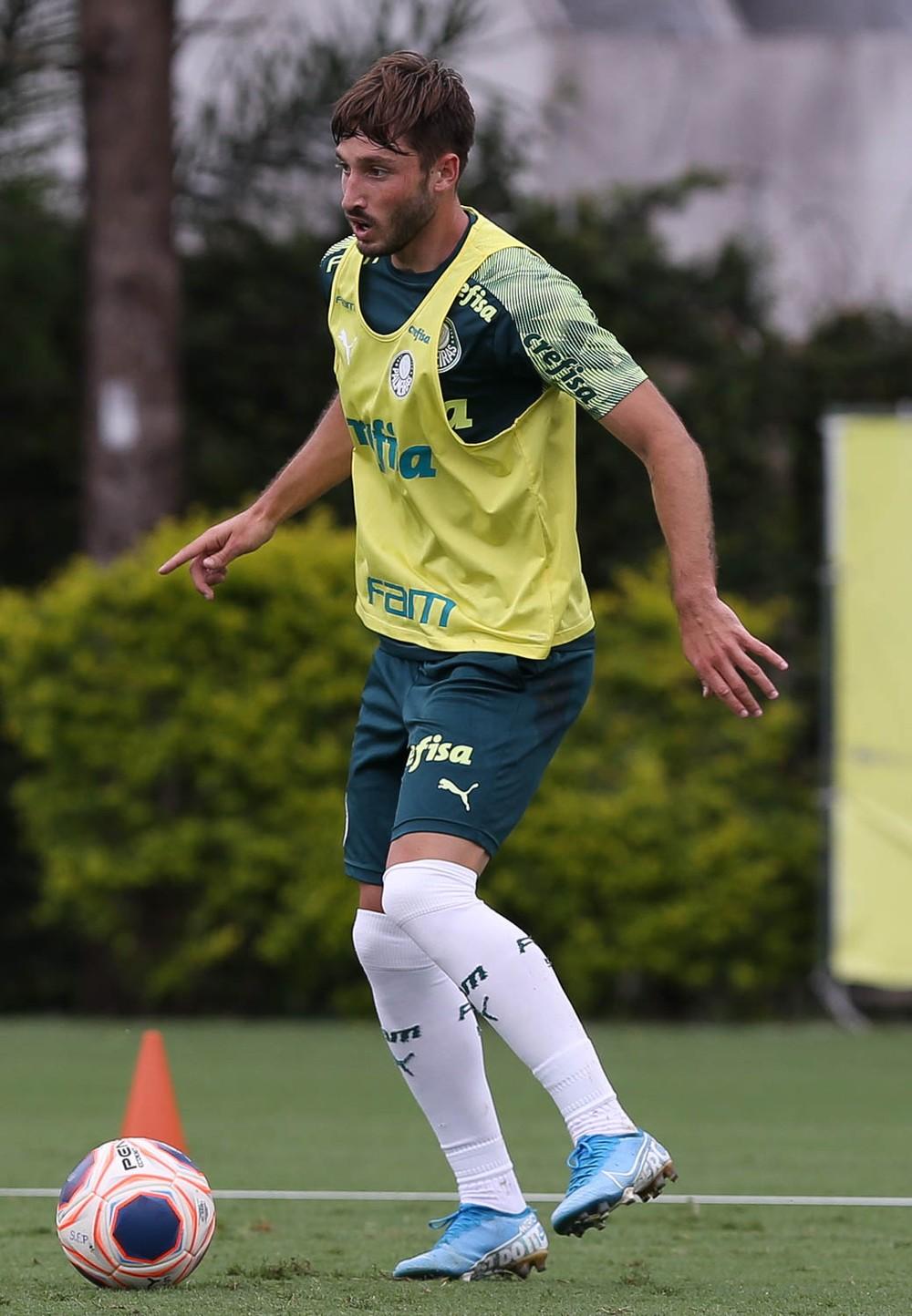 """Matías Viña faz golaço em """"estreia"""" pelo Palmeiras; reservas vencem jogo-treino"""