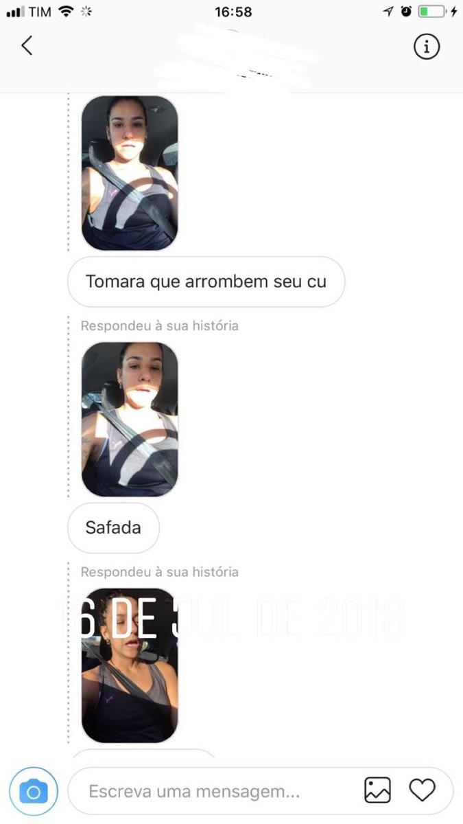 Print do Instagram de Joanna Maranhão (Foto: Reprodução/Twitter)