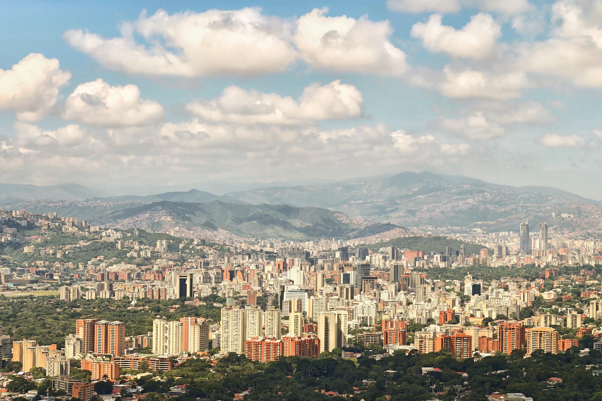 Cidade de Caracas, capital da Venezuela (Foto: Flickr/Fernando Flores/Creative Commons)
