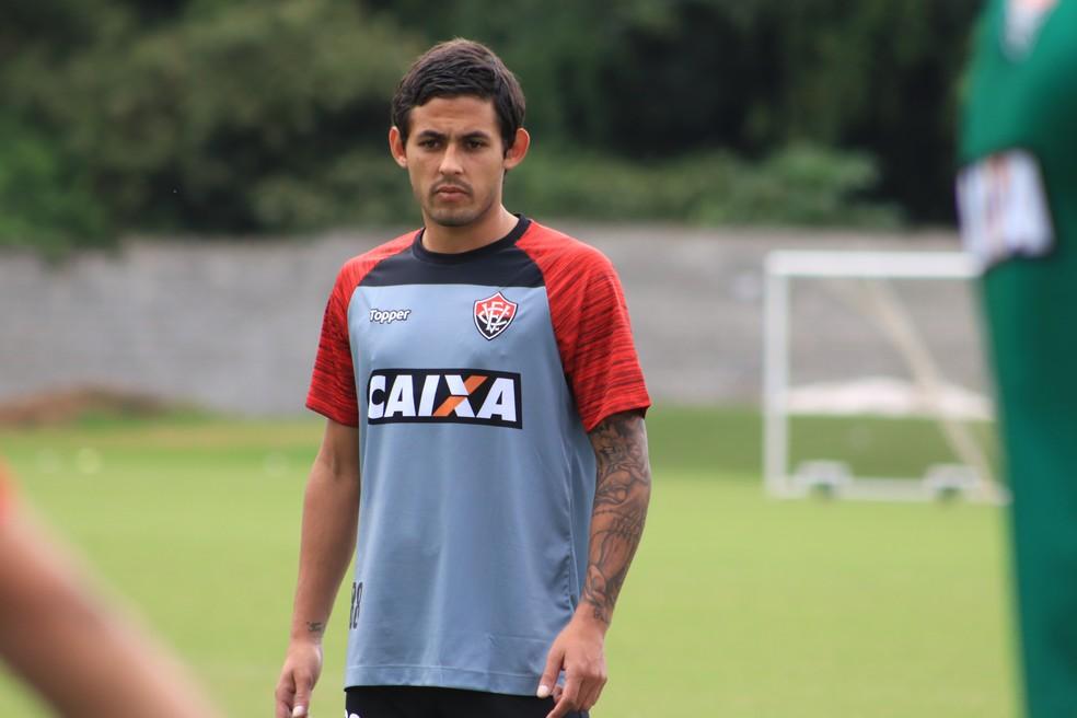 Ex-Racing, Marcelo Meli foi uma das novidades anunciadas pelo Vitória (Foto: Maurícia da Matta / EC Vitória / Divulgação)