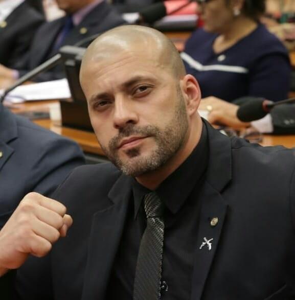 O deputado federal Daniel Silveira (PSL-RJ)