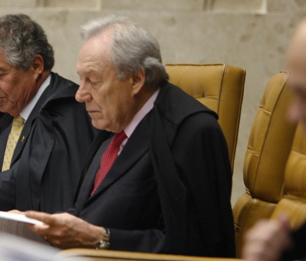 O ministro Ricardo Lewandowski durante sessão do STF nesta quinta-feira (8) (Foto: Rosinei Coutinho/STF)