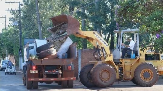 Projeto 'Cidade Limpa' realiza mutirão da limpeza em Garça
