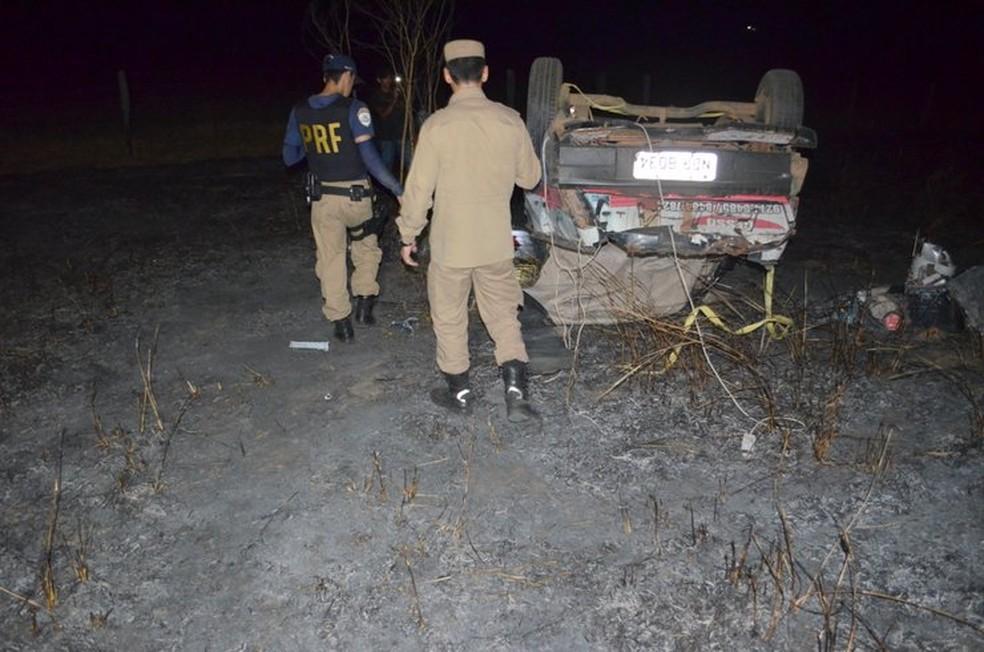 Vítimas ficaram feridas (Foto: Jaru online/Reprodução)