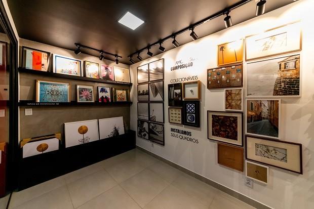 Interior do contêiner da Moldura Minuto (Foto: Divulgação)
