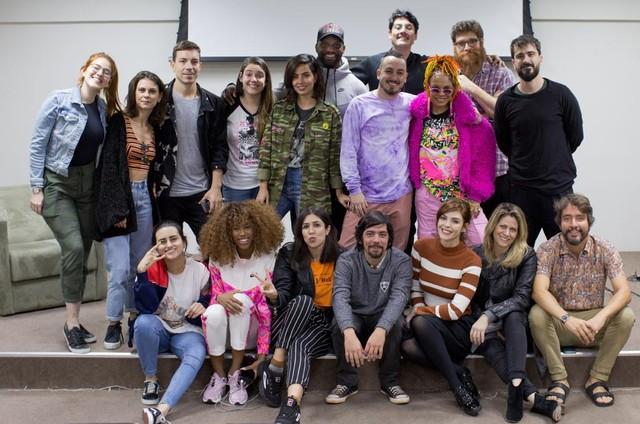 Equipe do Multishow e do Bis para a cobertura do Rock in Rio (Foto: Divulgação)