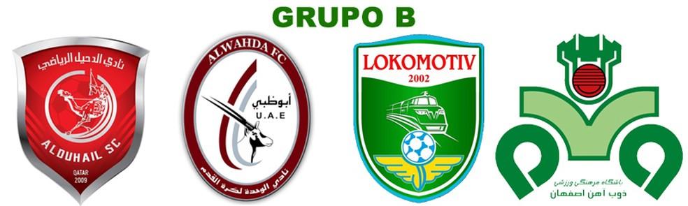 Grupo B: Al Duhail, Al Wahda, Lokomotiv Tashkent e Zob Ahan (Foto: Futebol no Japão)