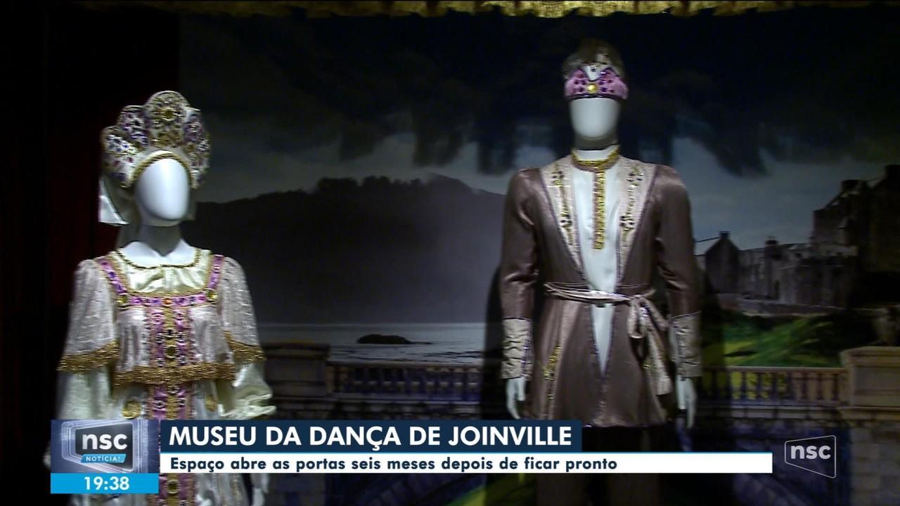Museu da Dança de Joinville abre ao público mais de sete meses após ficar pronto