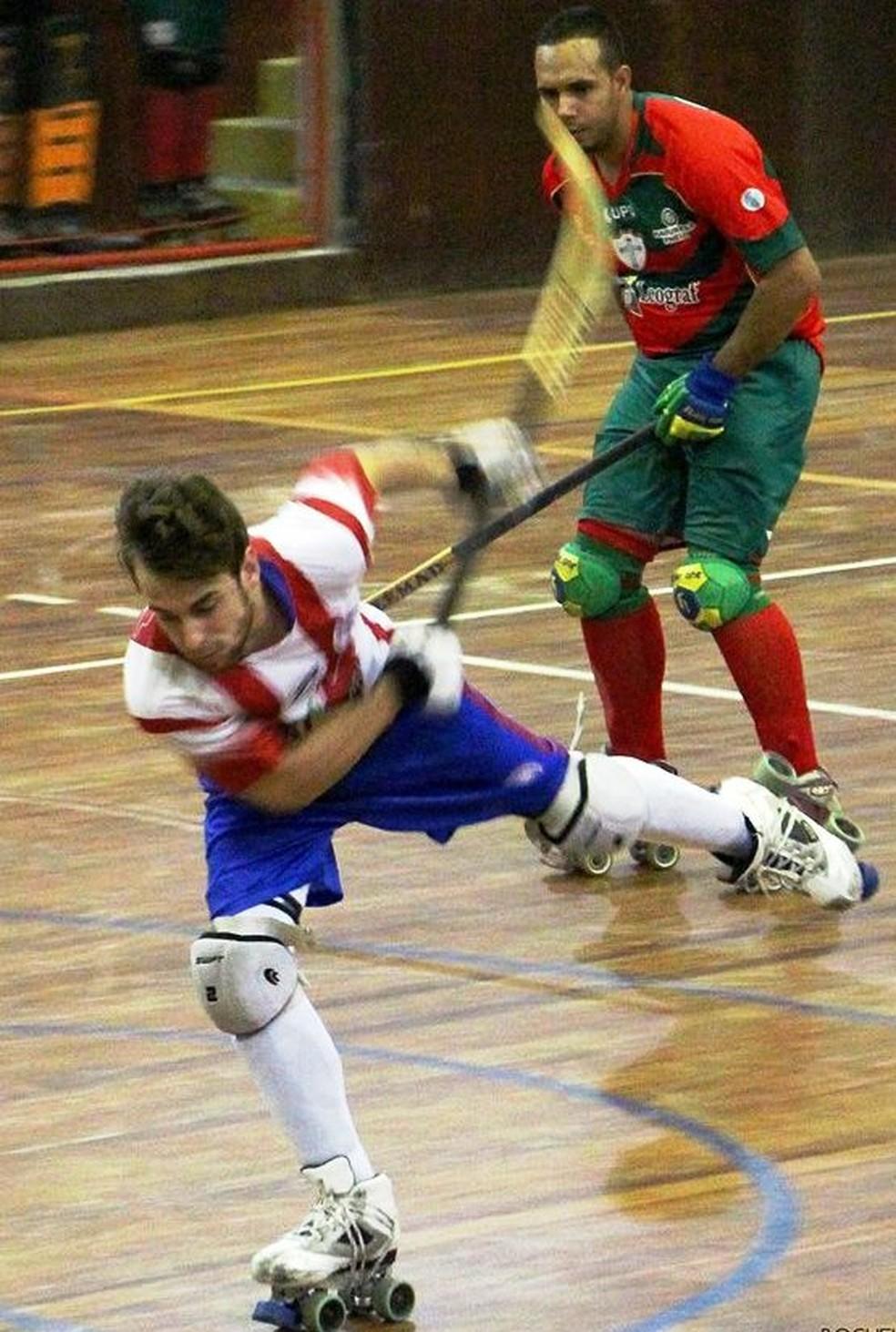 Matheus era atleta do Clube Internacional de Regatas de Santos, SP (Foto: Divulgação/CIR)