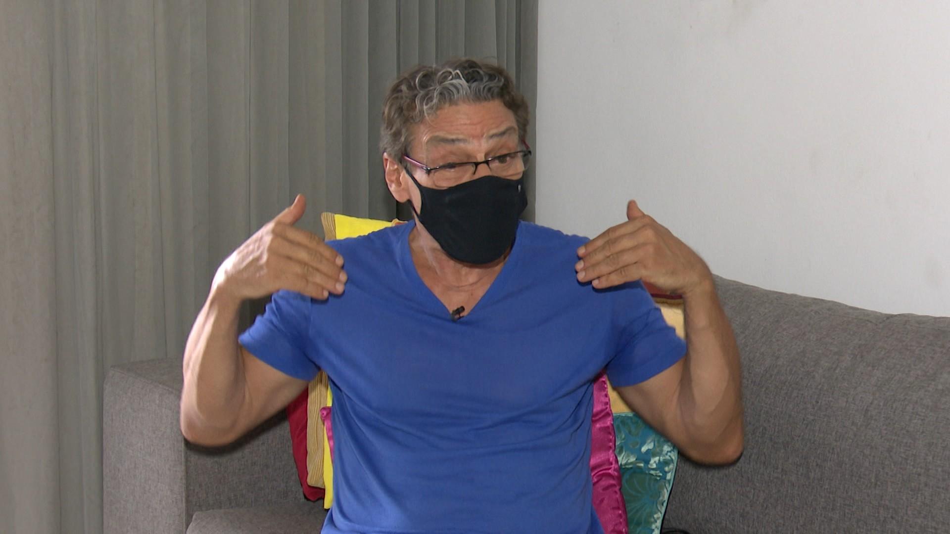 Ator Luiz Carlos Vasconcelos vai estrear como diretor em curta-metragem da Paraíba