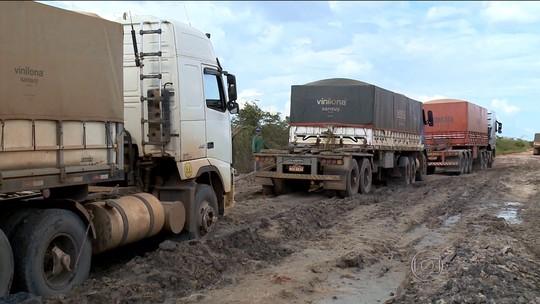 Produtores do Piauí sofrem com as condições da rodovia Transcerrado