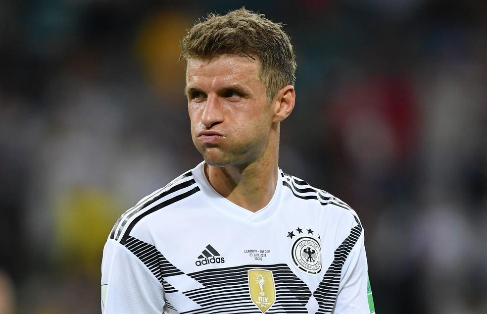 Müller sempre fez gols na primeira fase da Copa do Mundo (Foto: Stuart Franklin - FIFA/FIFA via Getty Images)