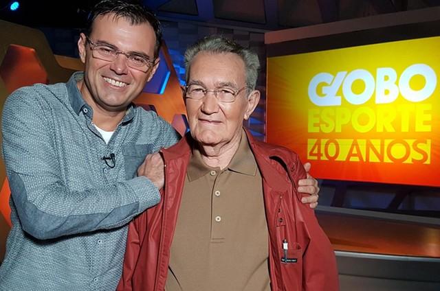 Tino Marcos e Leo Batista (Foto: Ronaldo Gonçalo / TV Globo)