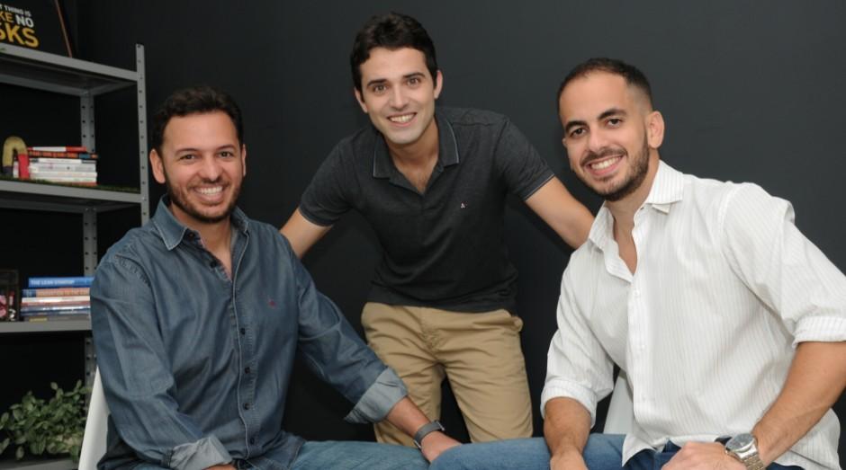 Igor Mascarenhas, Lucas Prado e Rafael Oliveira, fundadores da Pier (Foto: Divulgação)