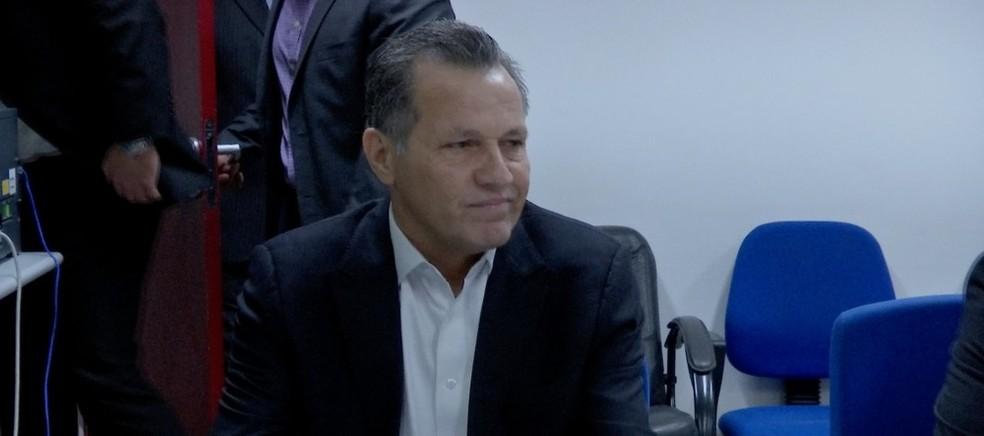 Silval Barbosa, ex-governador de MT, também foi denunciado — Foto: TVCA/ Reprodução