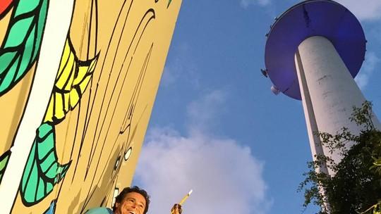 Cenário do especial Tempo de Trinta foi feito pelo artista plástico Clóvis Júnior