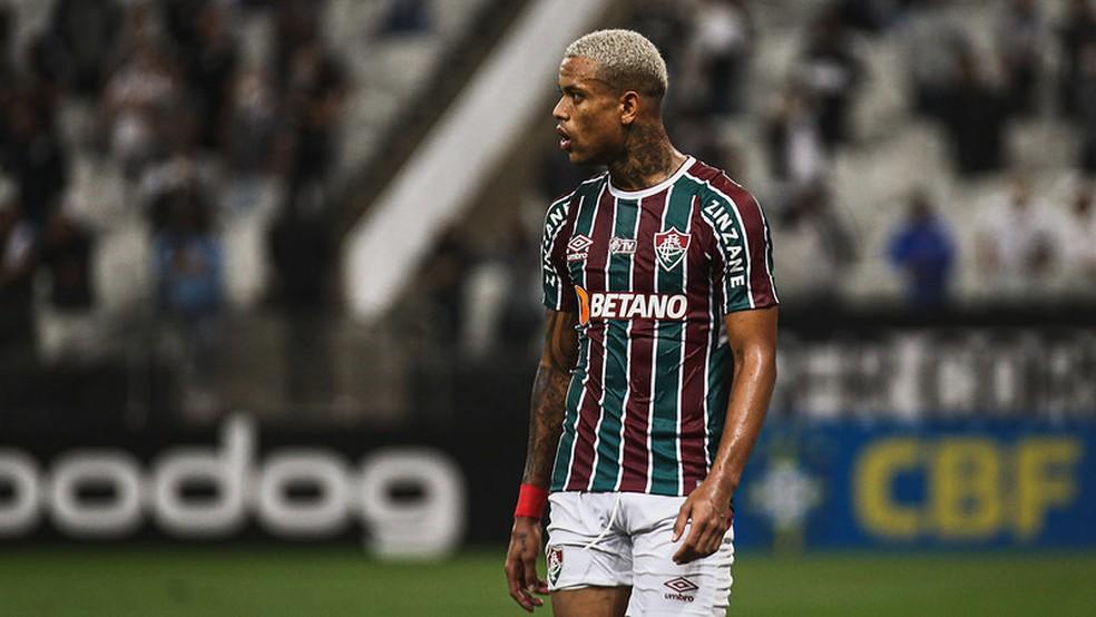 Caio Paulista em Corinthians x Fluminense — Foto: LUCAS MERÇON / FLUMINENSE F.C.