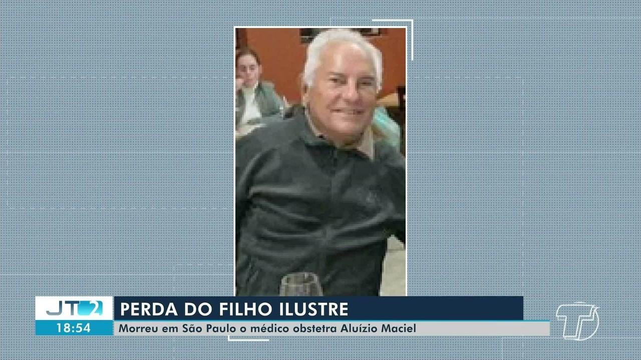 Morre em São Paulo o médico santareno Aluízio Maciel; corpo será velado na quinta, 31