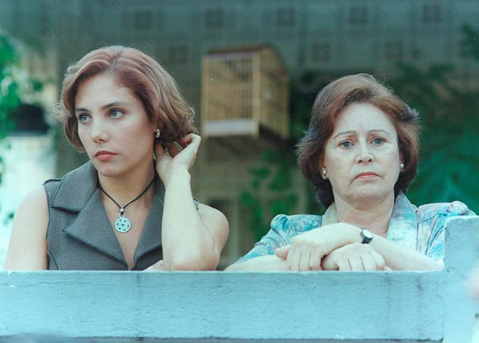 Sônia Guedes contracenou com Heloísa Périssé no 'Você Decide' — Foto: Acervo TV Globo