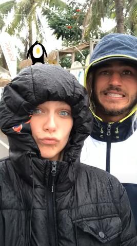 Isabella Santoni e Caio Vaz (Foto: Reprodução Instagram)