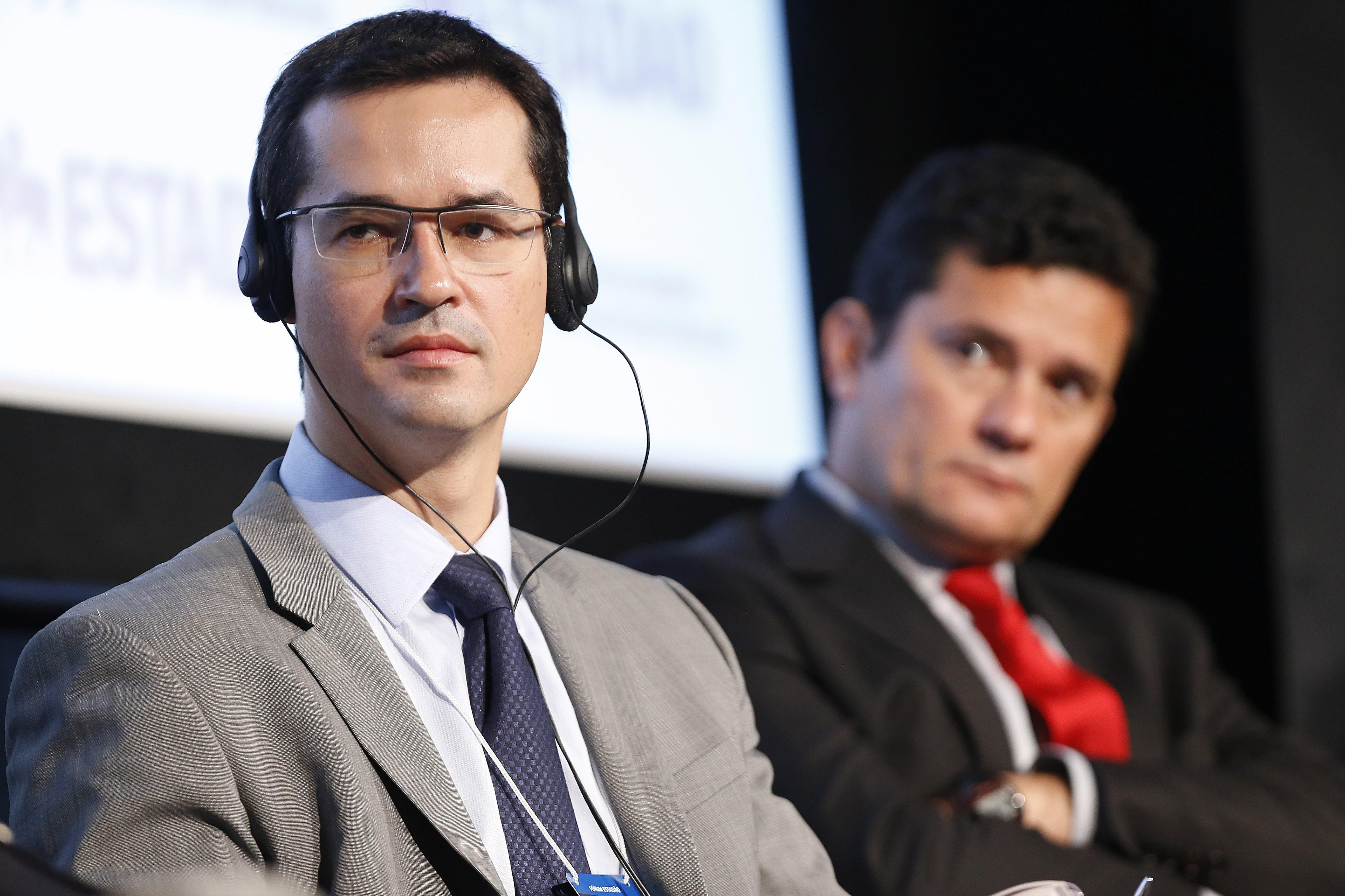 Deltan Dallagnol e Sergio Moro