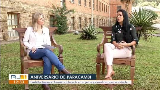 RJ1 entrevista prefeita de Paracambi - Parte 2