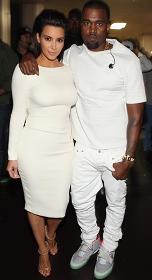 Kim Kardashian_Kanye West (Foto: Getty Images)