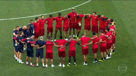 Suíça só precisa empatar com Costa Rica, que não tem mais chances
