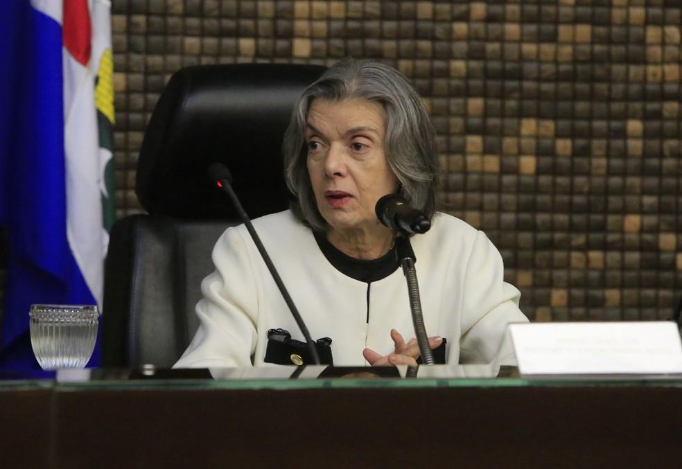 Pedido de informações foi proferido pela ministra Cármen Lúcia — Foto: Gilberto Farias/Gazeta de Alagoas