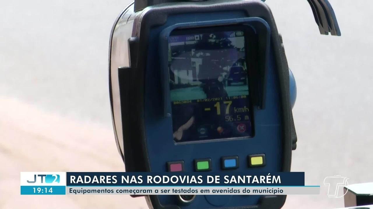 Iniciam testes de radares portáteis estáticos para instalação em rodoviais de Santarém