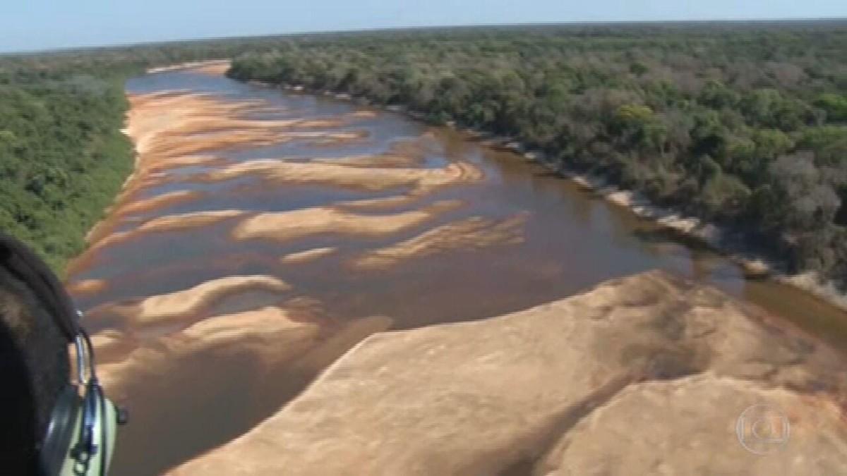 Dois rios importantes do Tocantins sofrem com a estiagem