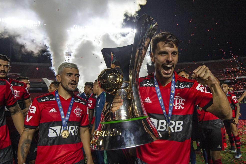 Flamengo assume a liderança do ranking da CBF após título do Brasileirão — Foto: Alexandre Vidal/Flamengo