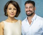 Andreia Horta e Cauã Reymond | TV Globo