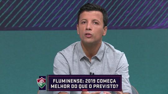 Para André Hernan, Fluminense vai brigar por vaga na Libertadores do ano que vem