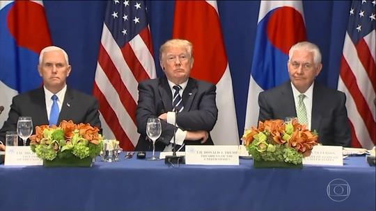 Parceiros comercias da Coreia do Norte são alvo de sanções de Trump