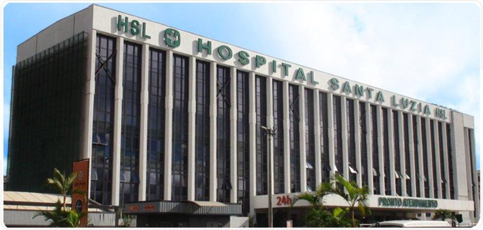 Hospital Santa Luzia, em Brasília, que pertence à Rede D'OR — Foto: Divulgação