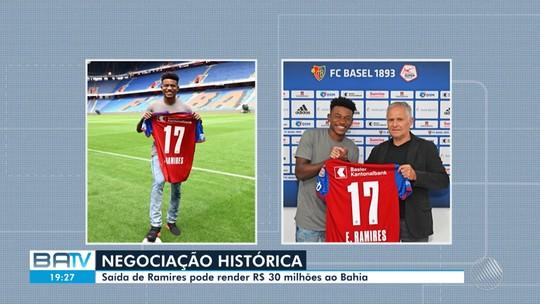 Ex-Bahia, Ramires é apresentado no Basel; negociação pode render R$ 30 milhões para clube