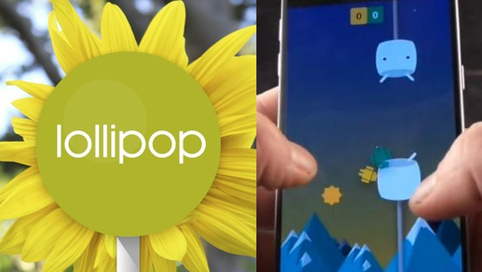 Usa Android Marshmallow ou Lollipop? Jogue Flappy Droid! (Foto: Edivaldo Brito/TechTudo)