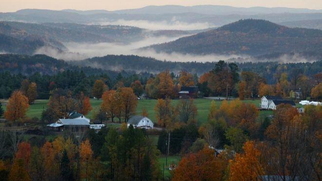 Vermont aguarda a chegada de imigrantes para impulsionar a economia local (Foto: Getty Images via BBC News Brasil)