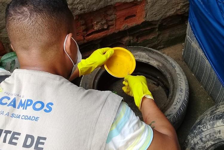 Campos, RJ, inicia último levantamento do ano para avaliar índice de infestação do Aedes aegypti na cidade