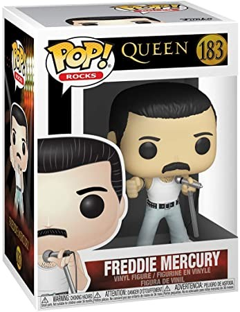 Funko Pop de Freddie Mercury no Live Aid 1985 (Foto: Divulgação/Amazon)