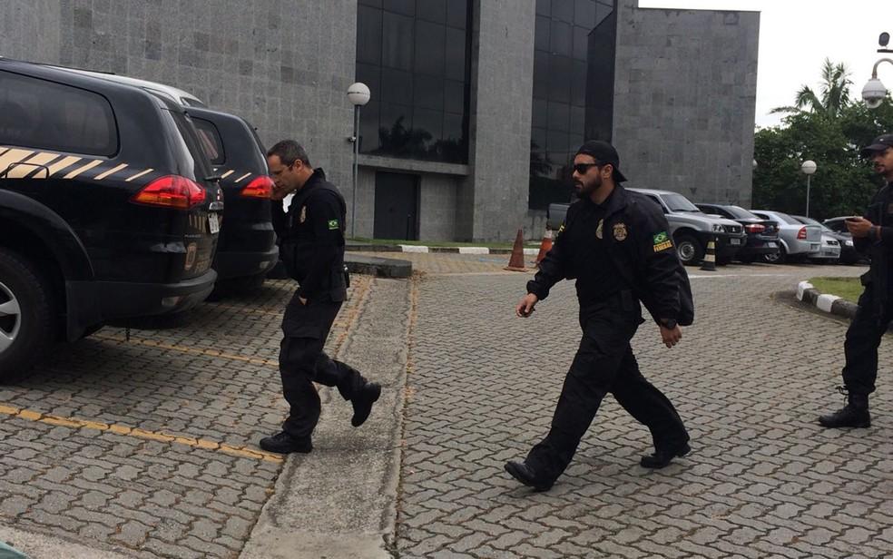Norambuena está na carceragem da PF em SP — Foto: Foto: Arquivo/Tatiana Santiago/G1