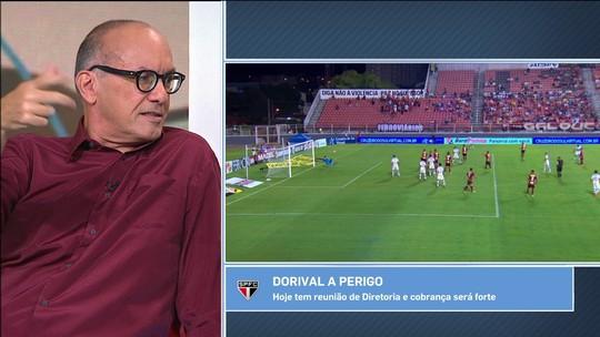 """Comentaristas analisam a crise do São Paulo: """"Demitir Dorival seria retroceder"""""""