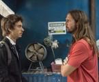 Guilherme Hamacek e Vladimir Brichta em cena de 'Amor de mãe' | Camilla Maia/TV Globo
