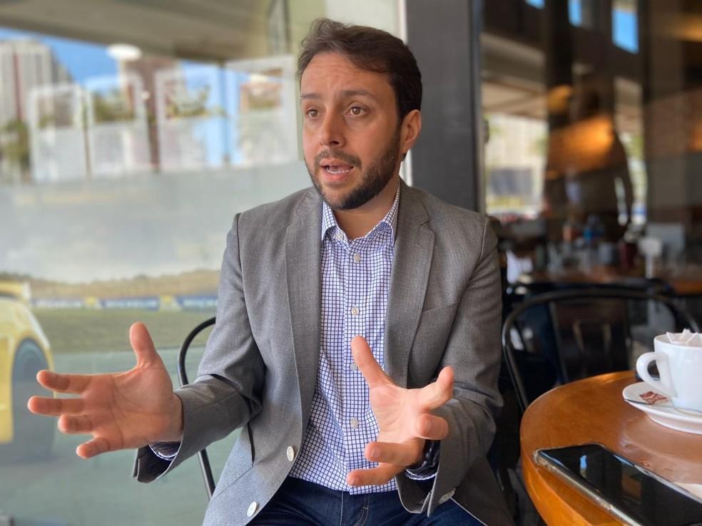 Julio Brant tentará ser presidente do Vasco pela terceira vez — Foto: Marcelo Baltar