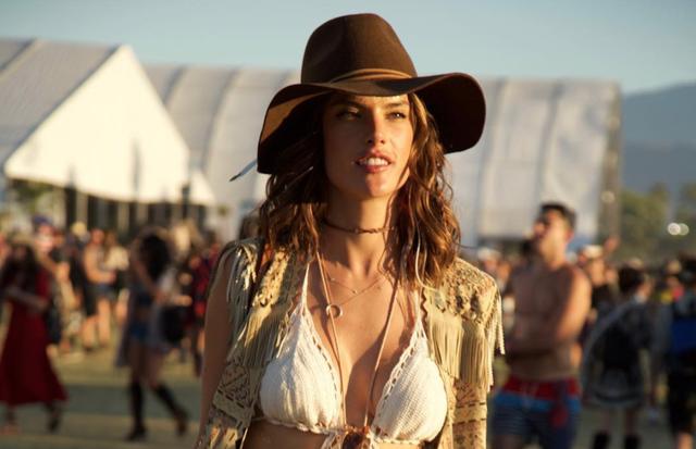 Alessandra Ambrosio no Coachella (Foto: Reprodução/Instagram)