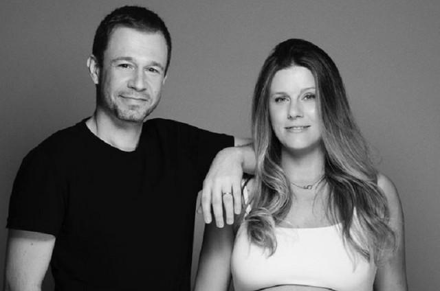 Tiago Leifert e Daiana Garbin (Foto: Reprodução)