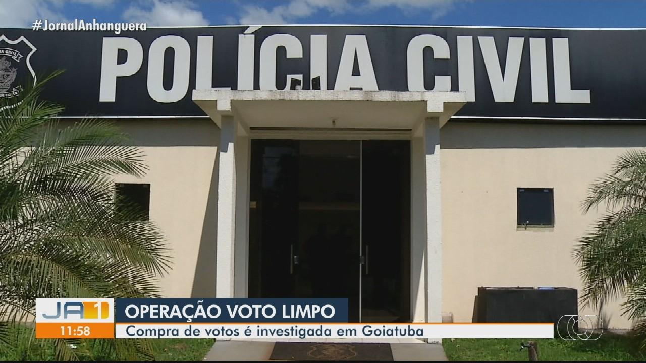 Operação investiga suspeita de compra de votos em Goiatuba